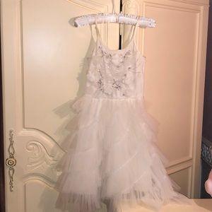 Girls white dress by Tutu Du Monde